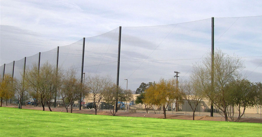 golf ball stop netting