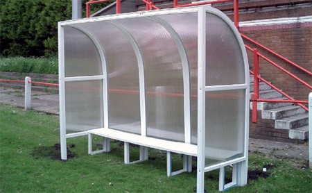 Portable Football & Team Shelter